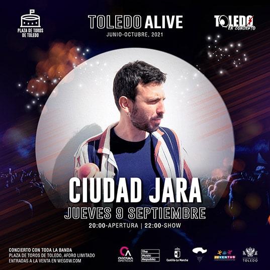 Concierto de Ciudad Jara en Toledo