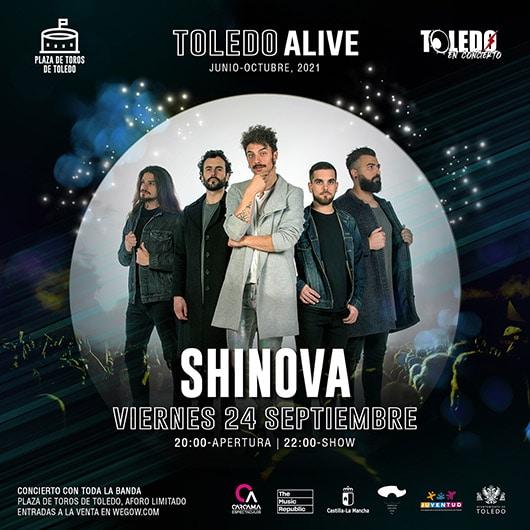 Concierto de Shinova en Toledo