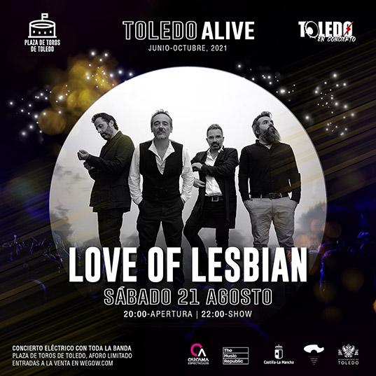 Love of Lesbian en Toledo